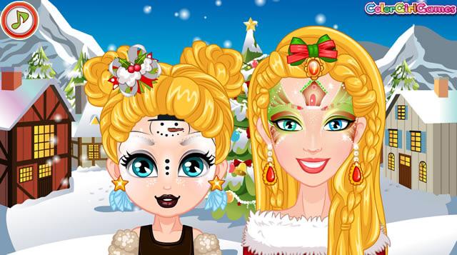Jouer barbie et sa fille no l jeux gratuits en ligne - Jeux de barbie enceinte gratuit ...