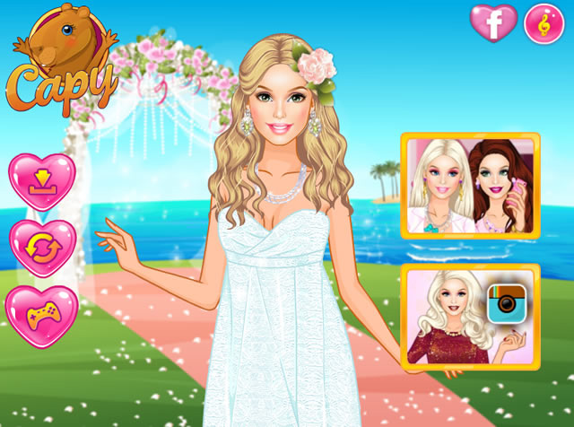 Jouer barbie mariage tropical jeux gratuits en ligne - Jeux de barbie enceinte gratuit ...