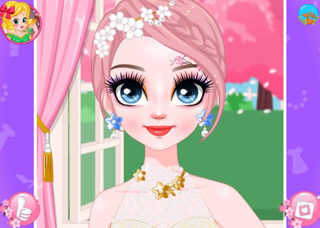 Jouer à Maquillage Fleurs De Cerisiers Jeux Gratuits En Ligne Avec