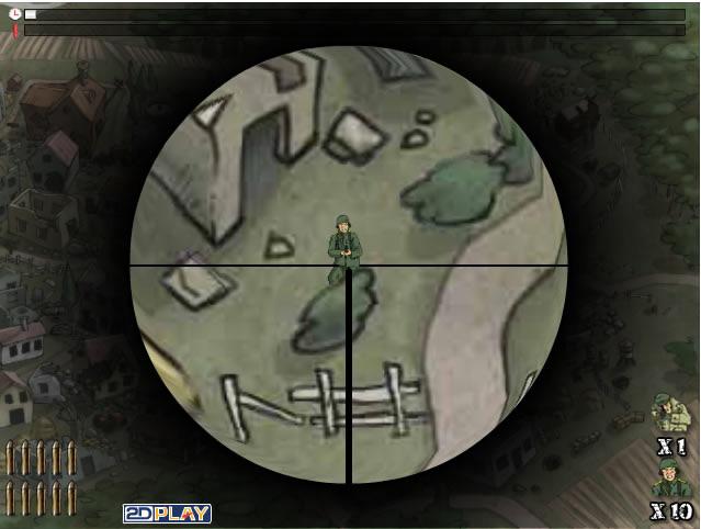Sniper Team 2 - Jouer à des jeux gratuit en ligne - Jeux flash