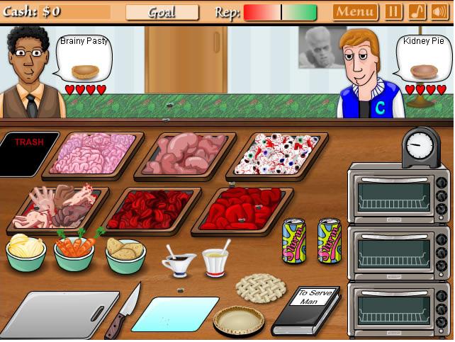 jouer cannibal cuisine jeux gratuits en ligne avec. Black Bedroom Furniture Sets. Home Design Ideas