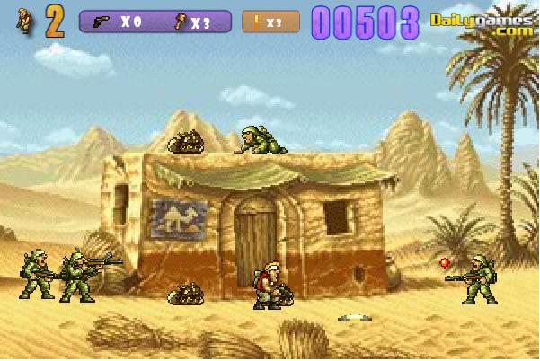 jeux metal slug brutal 3