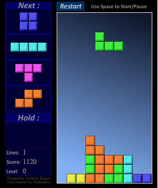Tetris Online Kostenlos Spielen Ohne Anmeldung