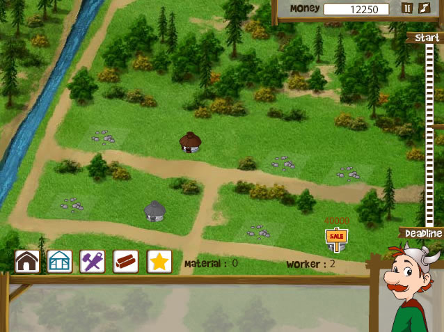 jeux en ligne village