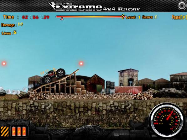 jouer extreme 4x4 racer jeux gratuits en ligne avec. Black Bedroom Furniture Sets. Home Design Ideas