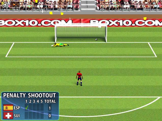 Jouer penalty 2010 shootout jeux gratuits en ligne avec - Penalty coupe du monde 2010 ...