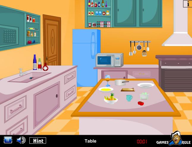 jouer kitchen trap escape jeux gratuits en ligne avec. Black Bedroom Furniture Sets. Home Design Ideas