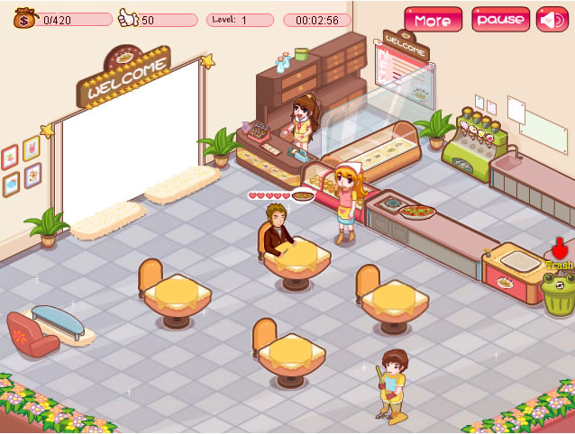 restaurant jeu