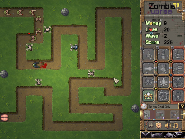 tower defense zombie