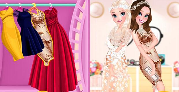 Anna et Elsa à la mode
